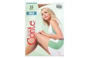 Колготки жіночі Conte Solo №17С-89СП 15den 2-S natural