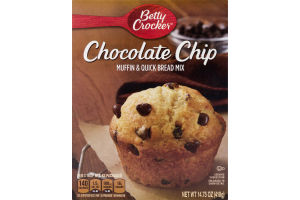 Betty Crocker Muffin & Quick Bread Mix Chocolate Chip