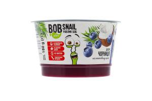 Десерт на кокосовому кремі Чорниця Bob snail ст 180г