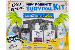 Little Remedies New Parents' Survival Kit