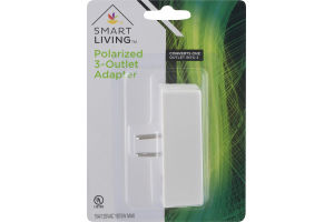 Smart Living Polarized 3-Outlet Adapter
