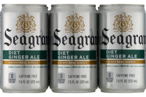 Seagram's Diet Ginger Ale - 6 CT