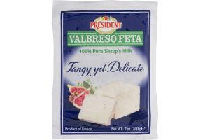 President Valbreso Feta 100% Pure Sheep's Milk