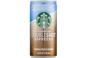Starbucks Doubleshot Espresso Espresso & Cream Light