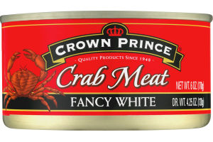 Crown Prince Crab Meat Fancy White