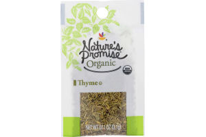Nature's Promise Organic Thyme