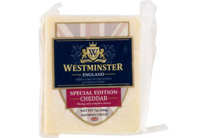Westminster England Special Edition Cheese Cheddar