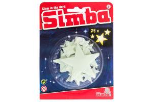 Набір сяючих елементів для дітей від 3років №7822342 Зірки Simba 25шт