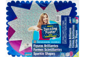 ArtSkills Sparkle Shapes - 3 CT