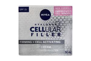 Крем для лица дневной SPF15 Hyaluron Cellular Filler Nivea 50мл