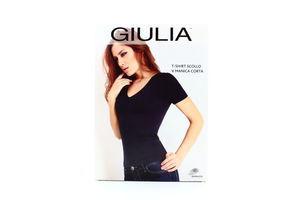 Футболка Giulia з трикутним вирізом жіноча L/XL