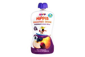 Смузі для дітей від 12міс Чорниця з яблуком та грушею HiPPiS HiPP д/п 120г