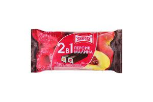 Сырки глазированные 15% 2в1 Персик-малина Злагода м/у 60г