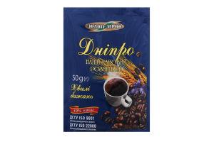 Напій кавовий розчинний Дніпро Золоте Зерно м/у 50г