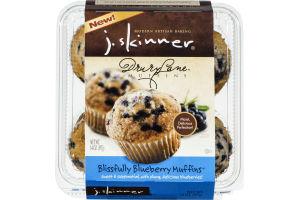 J. Skinner Drury Lane Muffins Blissfully Blueberry Muffins - 4 CT