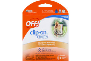 OFF! Clip-On Mosquito Repellent Refills - 2 CT