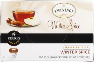 Twinings Winter Spice Herbal Tea - 12 CT