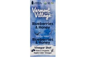 Vermont Village Vinegar Shot Blueberries & Honey - 12 CT