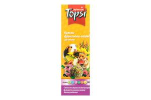 Шарики для грызунов фруктово-ягодные Topsi к/у 140г