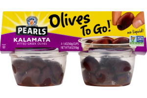 Musco Family Olive Co. Pearls Kalamata Pitted Greek Olives - 4 PK