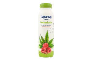 Йогурт 1.5% питьевой Малина-Конопля Danone п/бут 270г