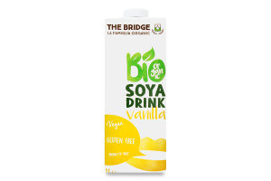 Напиток соевый The Bridge ванильн аромат органич