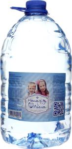 Вода детская Наня і Льоля с первых дней жизни