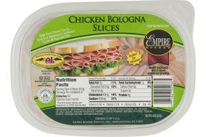 Empire Kosher Chicken Bologna Slices