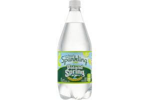 Poland Spring Natural Spring Water Sparkling Lime