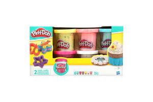Набір Play-Doh 6 баночок з конфеті HASBRO