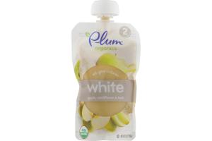 Plum Organics White Apple, Cauliflower & Leek