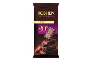 Шоколад 80% чорний Brut Roshen м/у 85г