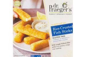 Dr. Praeger's Purely Sensible Foods Rice Crusted Fish Sticks