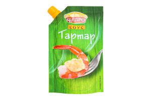 Соус майонезний 30% Тартар Щедро д/п 200г