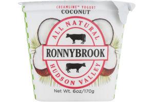 Ronnybrook All Natural Creamline Yogurt Coconut