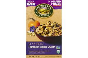 Nature's Path Organic Flax Plus Cereal Pumpkin Raisin Crunch