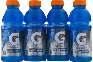 Gatorade Thirst Quencher Fierce Blue Cherry - 8 PK