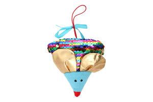 Игрушка мягконабивная для детей от 3лет №KMT0U Мышонок Сырник Fancy 1шт