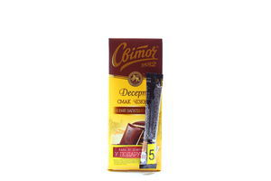 Шоколад Світоч Десерт Чізкейк 90г+кава Nescafe 2г х18