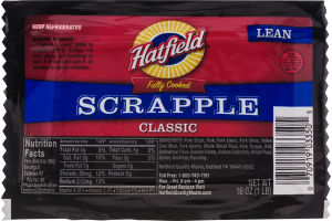 Hatfield Classic Scrapple Lean