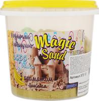 Набір для творчості жовтого кольору з ароматом банану для дітей від 3років №372-12 Magic Sand Strateg 1шт