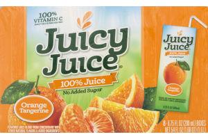 Juicy Juice 100% Juice Boxes Orange Tangerine - 8 PK