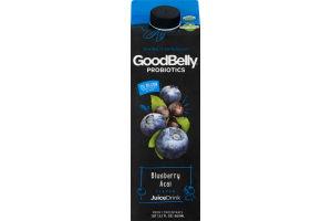 GoodBelly Probiotics JuiceDrink Blueberry Acai