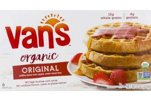 Van's Organic Waffles Original - 6 CT
