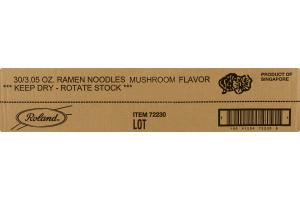 Roland Ramen Noodles Mushroom - 30 CT