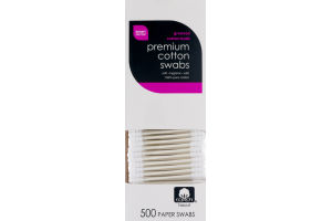 Smart Sense Premium Cotton Swabs - 500 CT