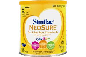 Similac Powdered Infant Formula Neosure