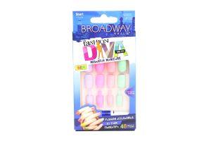 Ногти накладные Fashion diva №BMFD02 Broadway Nails 48шт