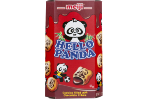 Meiji Hello Panda Filled Cookies Chocolate Creme