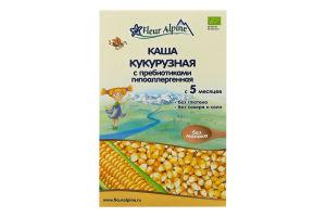 Каша кукурузная с пребиотиками для детей от 5мес Fleur Alpine к/у 175г